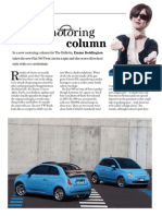 Fiat Cinqecento - The Bulletin, February 2011