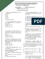 ATIVIDADE 3 - Função quadrática