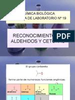 RECONOCIMIENTO DE ALDEHIDOS Y CETONAS