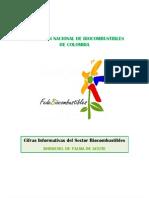 Cifras Informativas del Sector Biocombustibles - BIODIESEL(11)