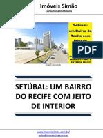 Setubal Um Bairro Do Recife Com Jeito de Interior