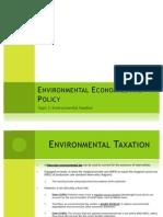 Environmental Taxation