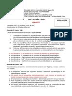 AP2 REVISÃO - GABARITO