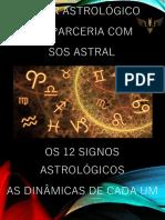 OS 12 SIGNOS ASTROLOGICOS - AS DINÂMICAS DE CADA UM