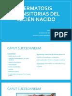 DERMATOSIS TRANSITORIAS DEL RECIÉN NACIDO