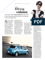 Nissan Leaf - The Bulletin, March 2011