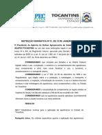 INSTRUÇÃO NORMATIVA Nº 01, DE 19 DE JANEIRO DE 2021