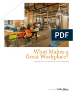 Kahler Slater What Makes a Great Workplace white paper