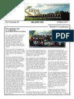 RCBKS Bulletin Vol. 19 No. 29