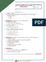 Devoir de Synthèse N°1 - Math - 1ère AS (2016-2017) Mme Daghbougi