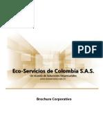 BROUCHURE ECO SERVICIOS 2021