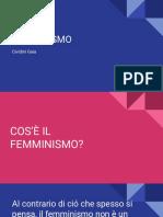 FEMMINISMO CIVIDINI