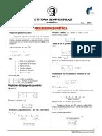 PROGRESIONES GEOMÉTRICAS - Actividad N° 1 - Pág. 1 - 2
