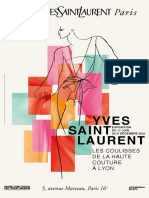 Exposition Yves Saint Laurent - Les coulisses de la haute couture à Lyon