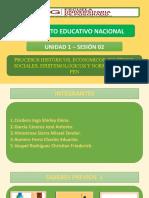 TAREA 2 - PROCESOS HISTÓRICOS, ECONÓMICOS, SOCIALES, POLÍTICOS, EPISTEMOLÓGICOS Y NORMATIVOS DE LA EDUCACIÓN