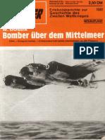 Bomber über dem Mittelmeer