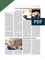 GRANDE ENTREVISTA - O espelho de Eva ou a desconstrução do imaginário, de Afonso Pinhão Ferreira, Edição 1981 do Jornal A voz da Póvoa