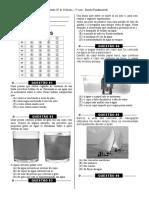 Simulado 6  - (3º Ano E.F - Ciências)- (Blog do Prof. Warles)