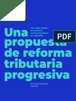 Una propuesta de reforma tributaria progresiva