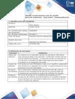 Plantilla 1 - Reconocimiento caso de estudio