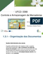 1.3.1 Organização dos documentos