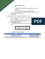 CARACTERISTICAS DE LA BASE DE DATOS