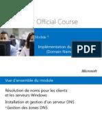 Chapitre 07 - Implémentation Du Système DNS (Domain Name System)