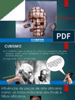 AULA 2- CUBISMO E FUTURISMO COM QUESTÕES