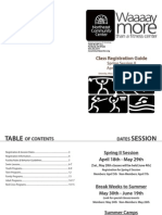 NECC_Spring II 2011 Booklet