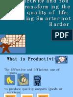 Productivity Awareness Presentation