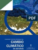Evidencia y efectos potenciales del cambio climático en Asturias