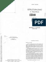 Lefebvre, Henri - Estructuralismo y Política