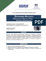 Ergonomia Aplicada a Puestos de Trabajo y Usuarios Computadores
