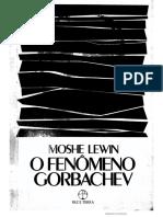 O fenômeno Gorbachev. Capa.