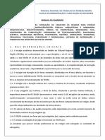 MANUAL DO CANDIDATO  - AREA ADMINISTRATIVA - 2021 - COM LINK
