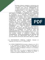 Prova 2 - Procedimentos Especiais - Processo Penal