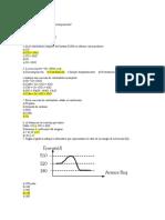 Preguntas reacciones quimicas evalución y ejercicios