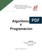 Algoritmica y Programacion Unidad I TRABAJO 1