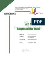 Act. 11 Responsabilidad Social - Video