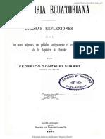 1904 Gonzalez Suarez Prehistoria Ecuatoriana