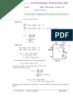 TD-SMP4-Electronique Série 3 Correction Avril 2020