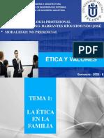 UNIDAD 2  ETICA Y VALORES - DR. EDMUNDO JOSE BARRANTES RIOS