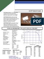 ALON Data Sheet