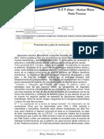 presentacion y plan de evaluacion  (4TO AÑO)