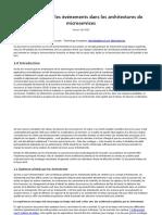 API pilotées par les événements dans les architectures de microservices