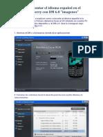 Montar Idioma Español Al Blackberry