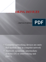 PPT ON networing devices