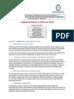 Rapport Organisation de La FDV