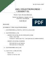 FasciculePCEM1electrophorese