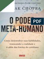 O Poder Meta-Humano - Deepak Chopra